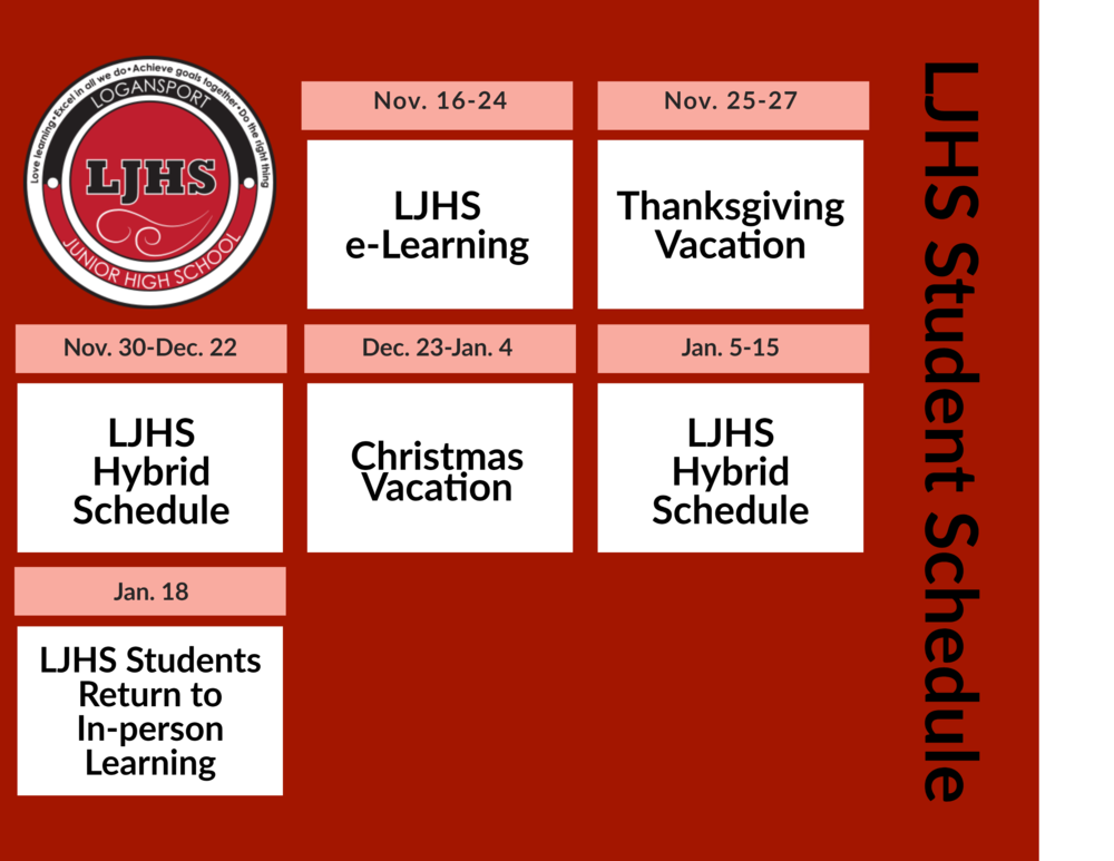 LJHS Students Transition to Hybrid Schedule