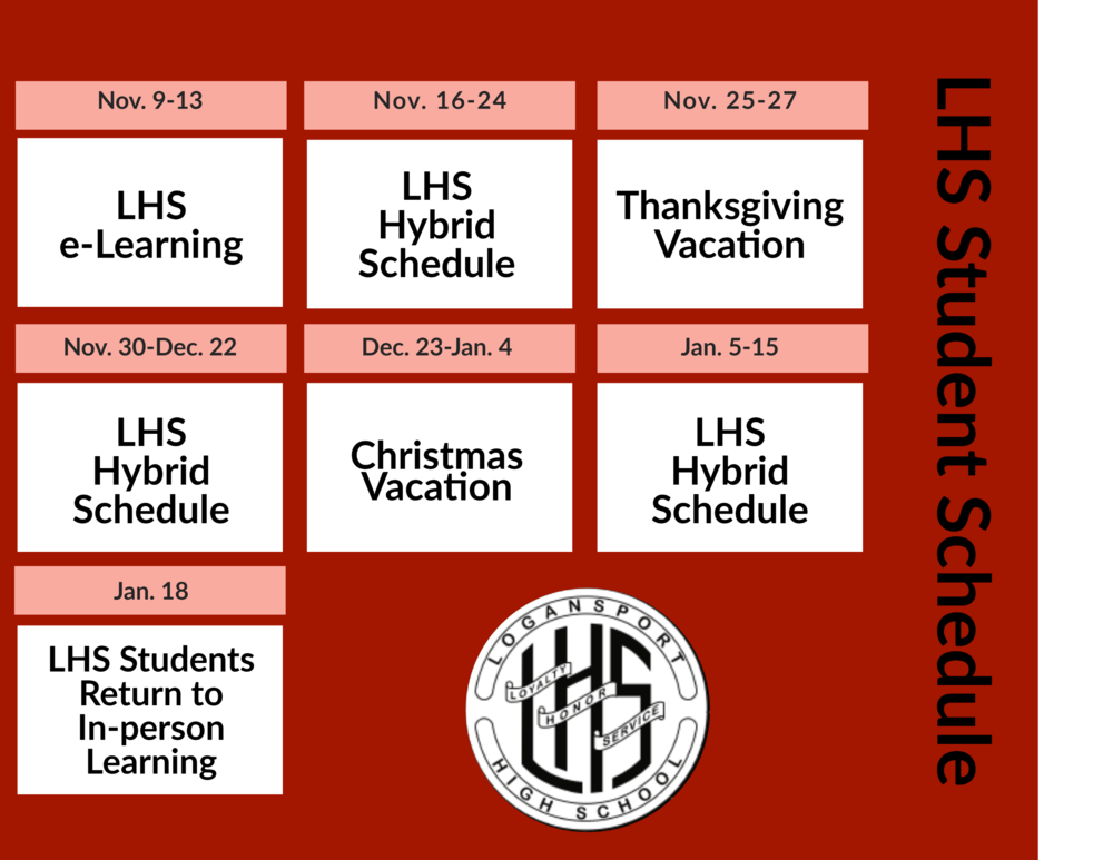 LHS Students Transition to Hybrid Schedule