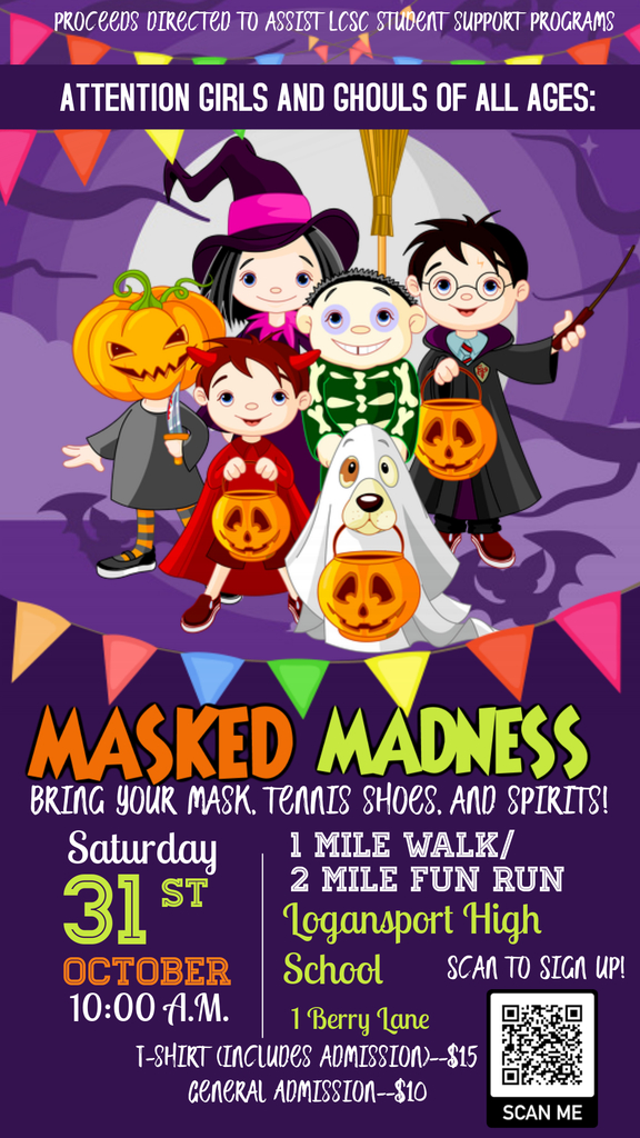 Masked Madness Flyer