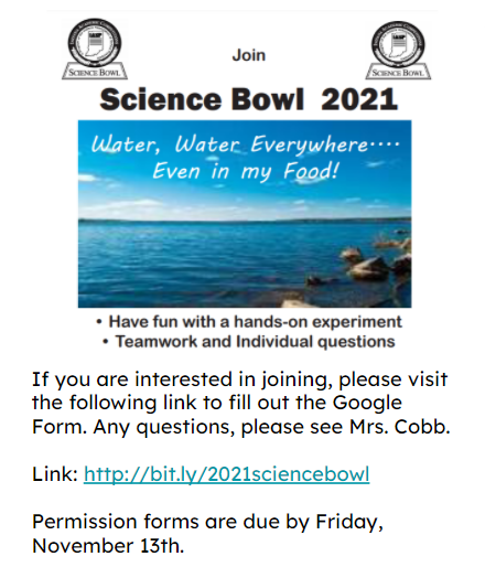 Science Bowl 2021