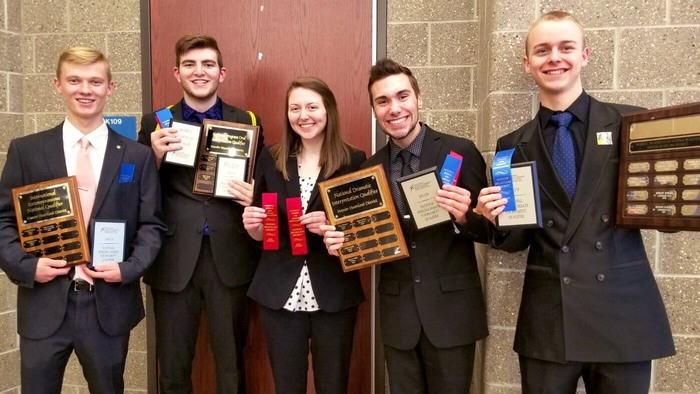 Logansport High School Speech Team-5 students have qualified for the 2019 National Speech Tournament to be held in Dallas, Texas.