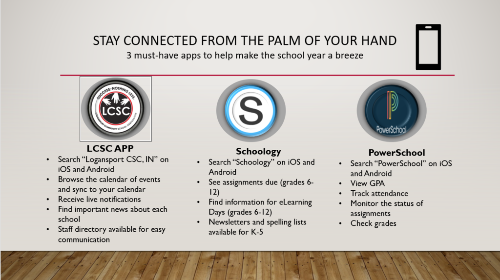 LCSC Parent Apps