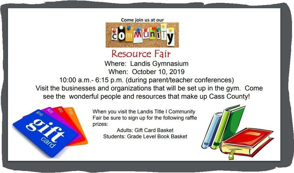 Landis Title I Community Fair
