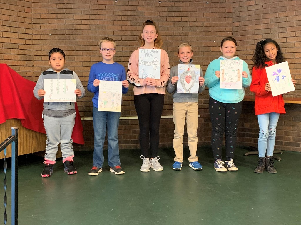 Red Ribbon Poster Contest Winners