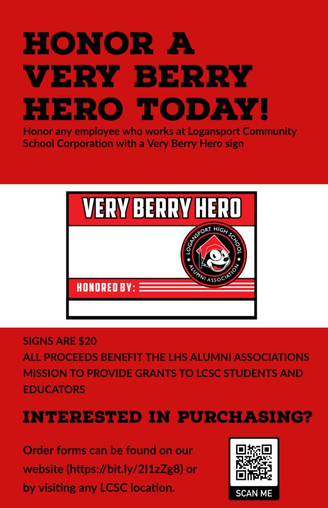 Very Berry Hero Sign