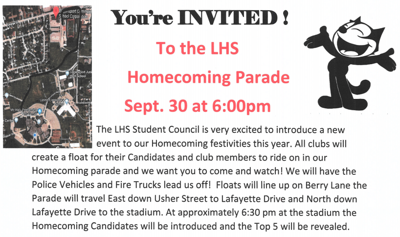 Homecoming Parade!