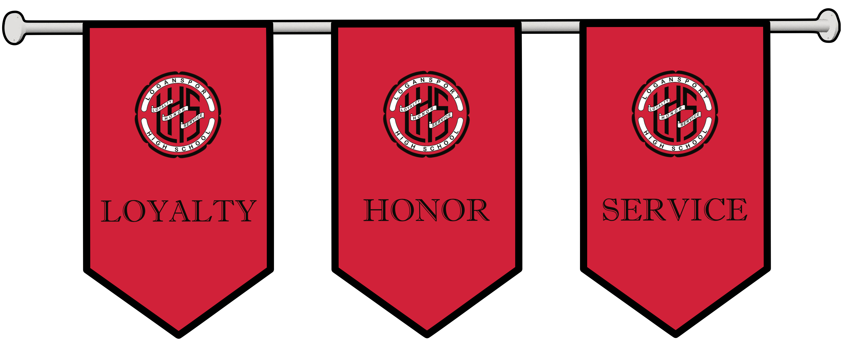 LHS Values: Loyalty, Honor and Service