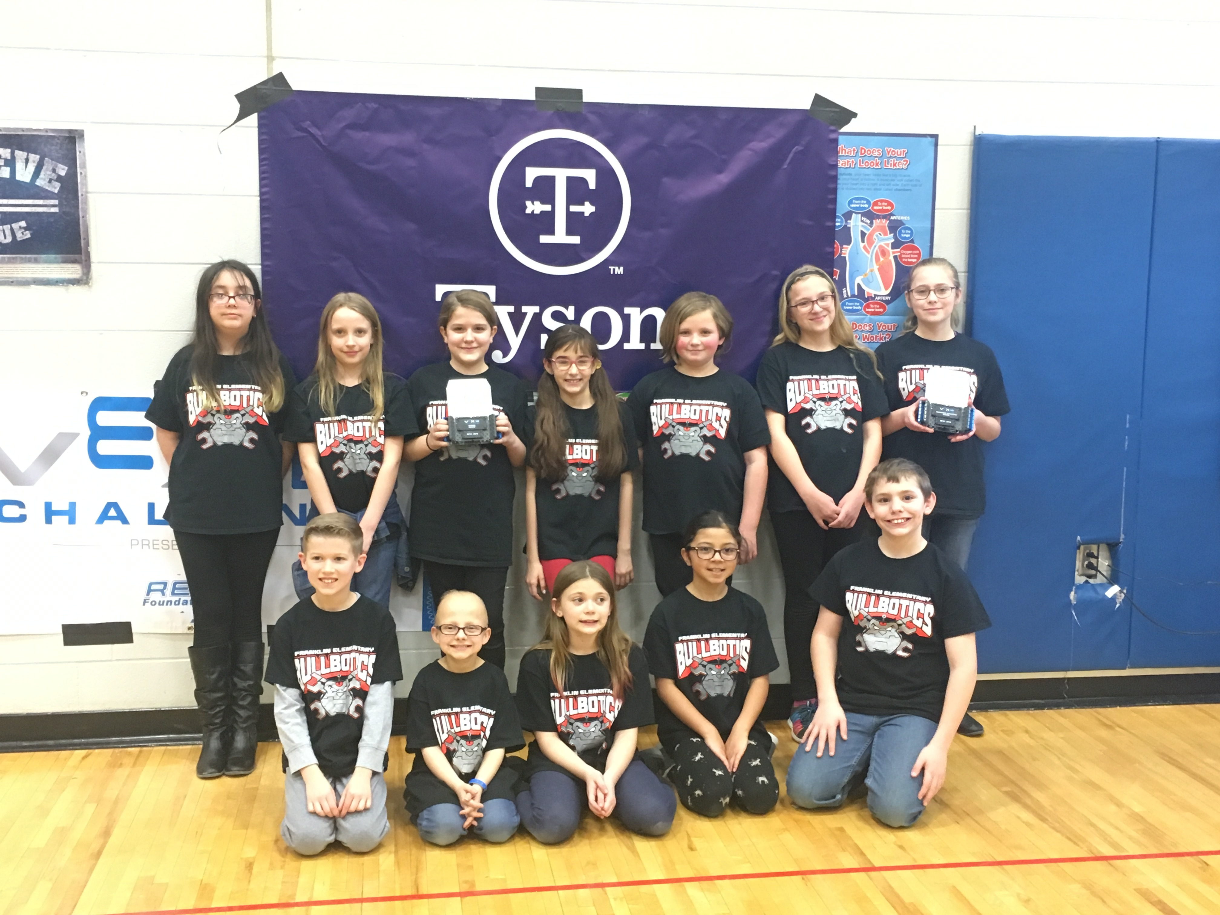 Franklin Elementary Bullbotics Team