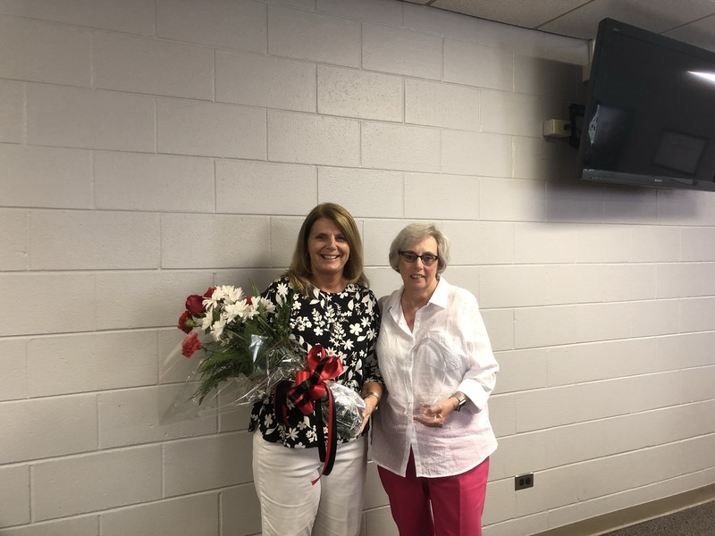 2019 Support Staff Member of the Year Recipient
